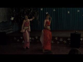 Индийский танец(новогодний вечер 2013)